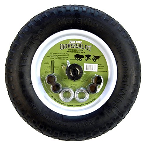 Arnold-Marathon-145-Universal-Flat-Free-Replacement-Wheelbarrow-Wheel-0-0