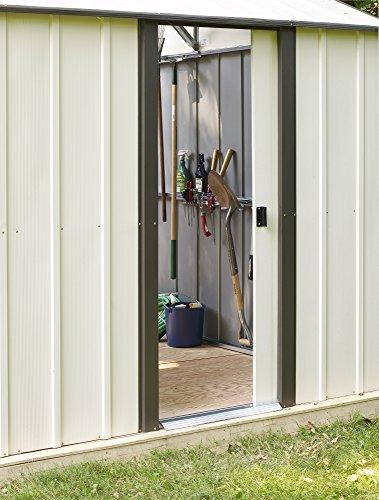 Arrow-Murryhill-High-Gable-Steel-Storage-Shed-CoffeeAlmond-0-1
