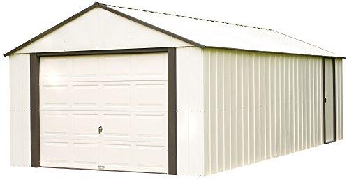 Arrow-Murryhill-High-Gable-Steel-Storage-Shed-CoffeeAlmond-0