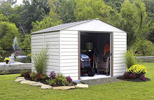 Arrow-Vinyl-Milford-High-Gable-Steel-Storage-Shed-Grey-BarkAlmond-10-x-12-ft-0-2