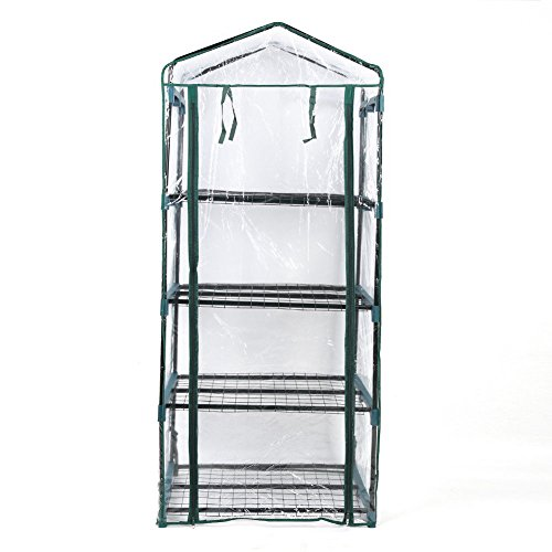 Asher-Amada-4Tier-Mini-Greenhouse-Steel-Frame-Outdoor-Garden-Plant-Grow-PVC-Plastic-House-US-0-1