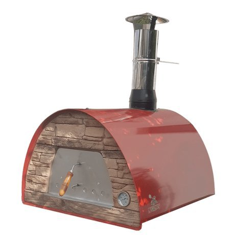Authentic-Pizza-Ovens-Maximus-Red-Handmade-Wood-Fire-Oven-0