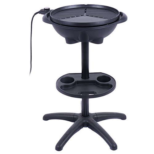 AyaMastro-Non-Stick-Outdoor-Electric-BBQ-Grill-1350W-w360-Rotatable-Condiment-Tray-0-0