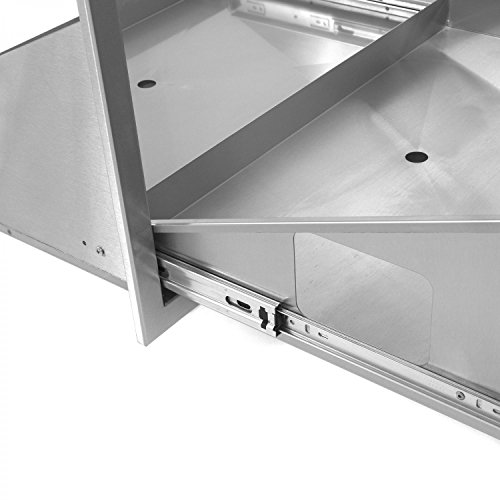 BBQGuyscom-Sonoma-Series-30-inch-Stainless-Steel-Roll-Out-Ice-Chest-Storage-Drawer-0-1