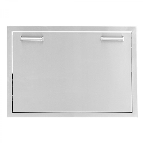 BBQGuyscom-Sonoma-Series-30-inch-Stainless-Steel-Roll-Out-Ice-Chest-Storage-Drawer-0