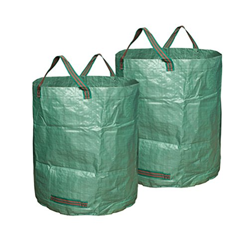 BESTOMZ-3pcs-Garden-Waste-Bags-Lawn-Pool-Garden-Leaf-Waste-Bag-Green-0-1