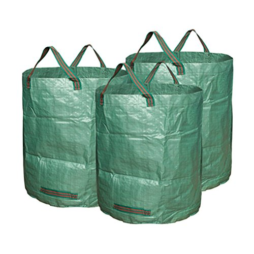 BESTOMZ-3pcs-Garden-Waste-Bags-Lawn-Pool-Garden-Leaf-Waste-Bag-Green-0