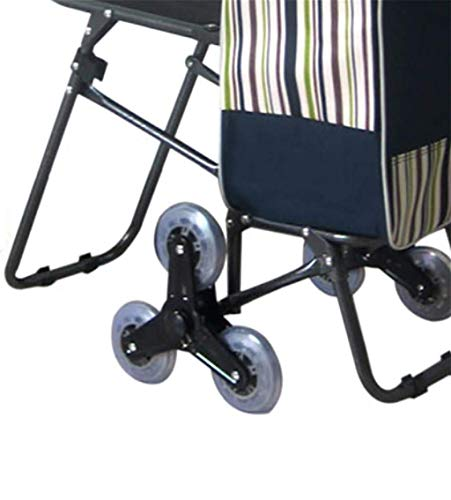 BHXUD-Shopping-Cart-Seat-Trolley-Supermarket-Funny-Grocery-Foldable-Cart-6-Wheels-The-Trolley-0-0