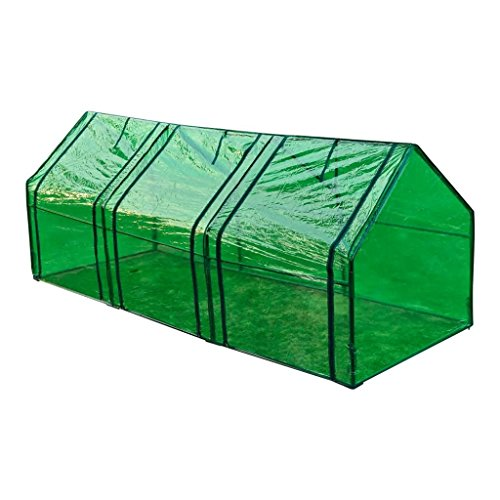 BLXCOMUS-Garden-3-Door-Walk-In-Tunnel-Green-House-Powder-Coated-Tubular-Steel-Outdoor-Greenhouse-Shade-With-Size8-x-3-x-3-L-x-W-x-H-0-0