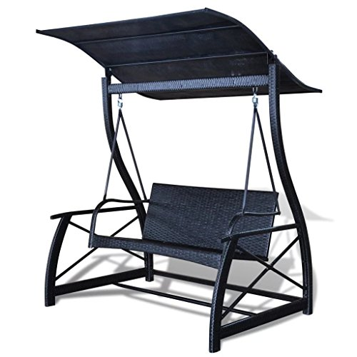 BLXCOMUS-Outdoor-Garden-Hanging-Swing-Chair-Poly-Rattan-Black-Hammock-Swing-Chair-Lounger-With-Size657x512x70-0-2