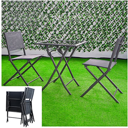 BS-Outdoor-Bistro-Set-Folding-Set-3-Piece-Coffee-Table-and-Chairs-Durable-Furniture-Steel-Frame-Lightweight-Perfect-for-Veranda-Garden-Pool-Porch-or-Deck-Balcony-Conversation-Set-eBook-by-BADA-shop-0