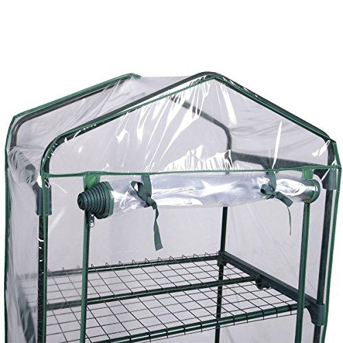 BUY-JOY-4-Shelves-Green-house-Portable-Mini-Outdoor-Green-House-Brand-New-Garden-0-0