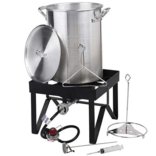 Backyard-Pro-30-Qt-Deluxe-Aluminum-Turkey-Deep-Fryer-Kit-Steamer-Pot-Propane-LP-0