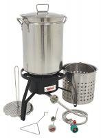 Bayou-Classic-Propane-Turkey-Fryer-Kit-Burner-and-32qt-Stainless-Steel-Pot-0