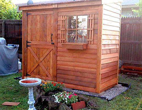 Bayside-12-x-4-Lean-To-Cedarshed-0-2