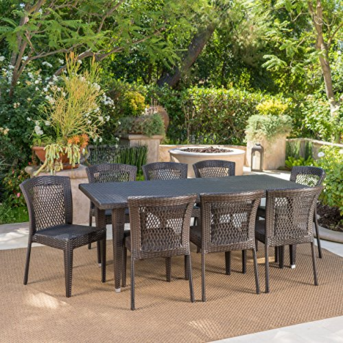 Beach-Lane-9-Piece-Outdoor-Wicker-Dining-Set-Perfect-for-Patio-in-Multibrown-0-0