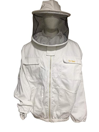 Bee-Smart-900-Heavy-Duty-Bee-Keeping-Jacket-Round-Veil-0
