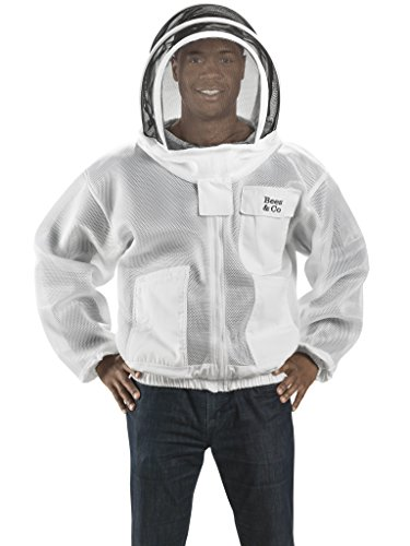 Bees-Co-K84-Ultralight-Beekeeper-Jacket-with-Fencing-Veil-0-0