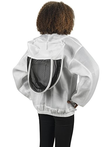 Bees-Co-K84-Ultralight-Beekeeper-Jacket-with-Fencing-Veil-0-2