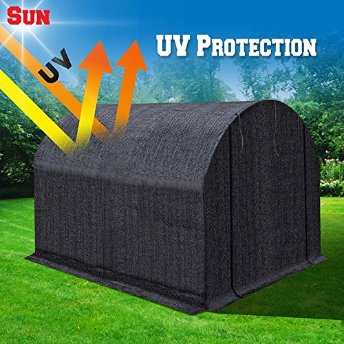 BenefitUSA-Green-House-Replacement-Black-color-Cover-for-Green-house-Frame-NOT-Include-0-1