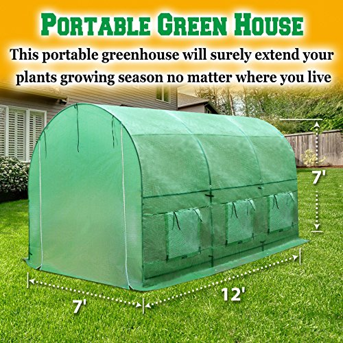 BenefitUSA-Hot-Green-House-12X7X7-Larger-Walk-in-Outdoor-Plant-Gardening-Greenhouse-Plant-Protector-0-1