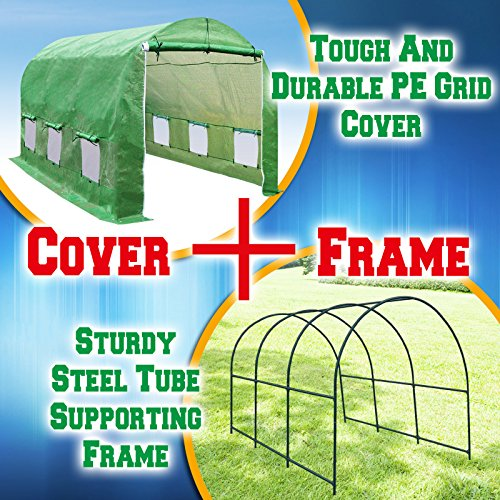 BenefitUSA-Hot-Green-House-12X7X7-Larger-Walk-in-Outdoor-Plant-Gardening-Greenhouse-Plant-Protector-0-3