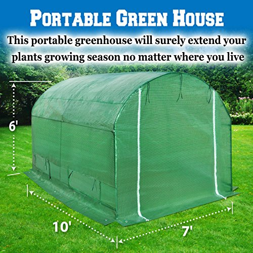 BenefitUSA-Large-Green-House-Walk-In-Garden-Greenhouse-Outdoor-Canopy-Gazebo-Plant-House-0-0