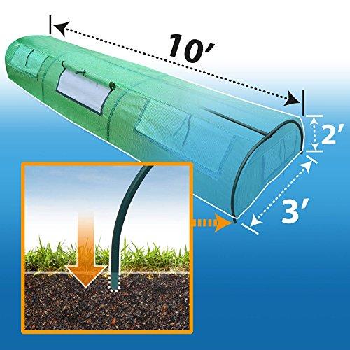 BenefitUSA-TNGH-Outdoor-Gardening-Greenhouse-Green-0-0