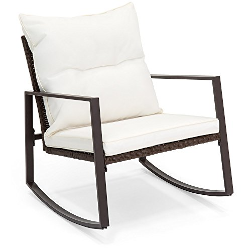 Best-Choice-Products-3-Piece-Patio-Wicker-Bistro-Furniture-Set-w2-Rocking-Chairs-Glass-Side-Table-Cushions-0-2