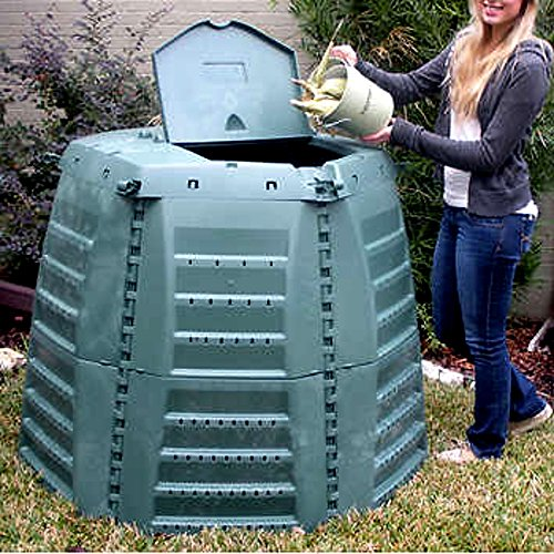 Best-Compost-Tumbler-for-Outdoor-use-City-Extra-Large-Wizard-for-Original-Composter-Tumbler-267-Cubic-Gallons-E-Book-0