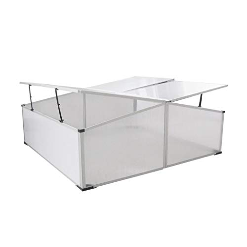 BestHomeFuniture-Patio-Outdoor-4-Lids-Polycarbonate-Aluminum-Cold-Frame-Greenhouse-Garden-Plant-0-0