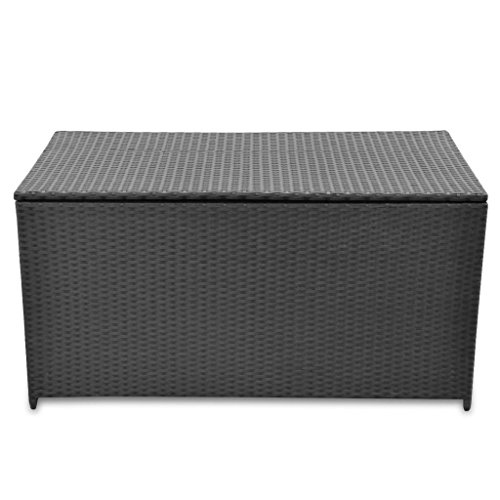 BestHomeFuniture-Patio-Outdoor-Poly-Rattan-Desk-Storage-Box-Patio-Porch-Cushion-Pillow-Storage-Black-0-0