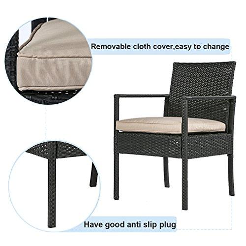 BestMassage-4PC-Rattan-Patio-Furniture-Chair-Set-Outdoor-Garden-Conversation-Sofa-Wicker-Set-with-Cushions-0-2