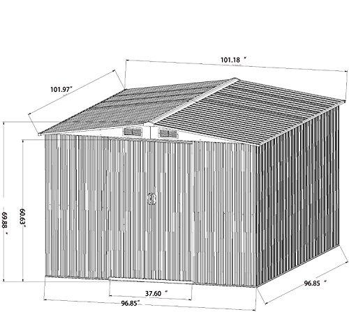 Bestmart-INC-New-8×8-Outdoor-Steel-Garden-Storage-Utility-Tool-Shed-Backyard-Lawn-Building-Garage-with-Sliding-Door-0-1