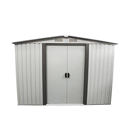 Bestmart-INC-New-8×8-Outdoor-Steel-Garden-Storage-Utility-Tool-Shed-Backyard-Lawn-Building-Garage-with-Sliding-Door-0