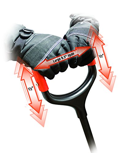 Bigfoot-21-Snow-Roller-Pusher-Snow-Shovel-with-Two-Fisted-Shock-Shield-D-Grip-1601-0-0