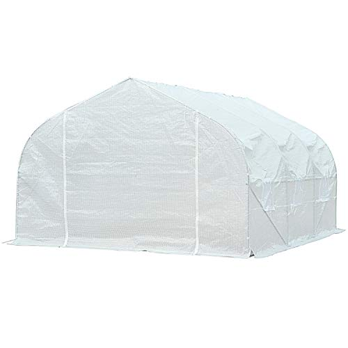 Biltek-11ft-Portable-Walk-in-Garden-Greenhouse-Outdoor-Green-House-for-Fruits-Vegetables-Plants-and-Flowers-11-Long-x-10-Wide-x-7-High-0-0