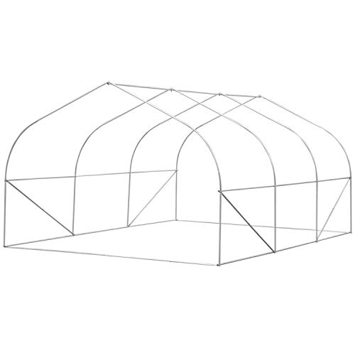Biltek-11ft-Portable-Walk-in-Garden-Greenhouse-Outdoor-Green-House-for-Fruits-Vegetables-Plants-and-Flowers-11-Long-x-10-Wide-x-7-High-0-1
