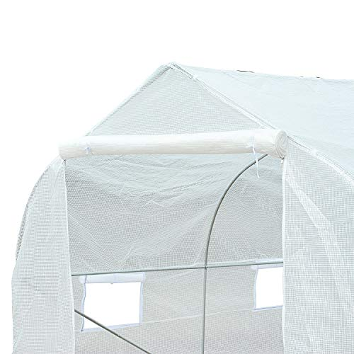 Biltek-11ft-Portable-Walk-in-Garden-Greenhouse-Outdoor-Green-House-for-Fruits-Vegetables-Plants-and-Flowers-11-Long-x-10-Wide-x-7-High-0-2