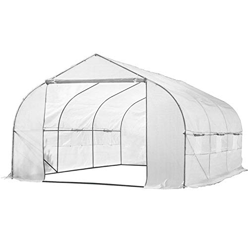 Biltek-11ft-Portable-Walk-in-Garden-Greenhouse-Outdoor-Green-House-for-Fruits-Vegetables-Plants-and-Flowers-11-Long-x-10-Wide-x-7-High-0