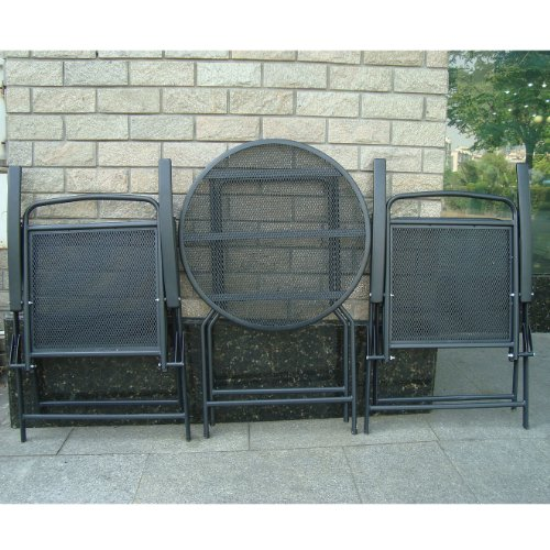 Bistro-Set-Patio-Set-Table-and-Chairs-Outdoor-Wrought-Iron-CAFE-set-METAL-0-0