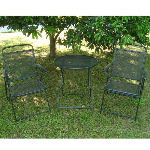 Bistro-Set-Patio-Set-Table-and-Chairs-Outdoor-Wrought-Iron-CAFE-set-METAL-0-2