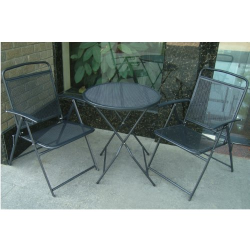 Bistro-Set-Patio-Set-Table-and-Chairs-Outdoor-Wrought-Iron-CAFE-set-METAL-0