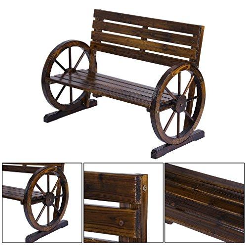 Blackpoolfa-1030-x-510-x-740-mm-Premium-Rustic-Wooden-Wagon-Wheel-Bench-Patio-Garden-Wood-Design-Outdoor-Furniture-350lbs-0-2