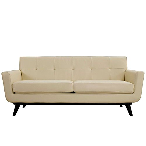Bonded-Leather-Loveseat-Dimensions-33W-x-78D-x-325H-Weight-140-lbs-Beige-0-0