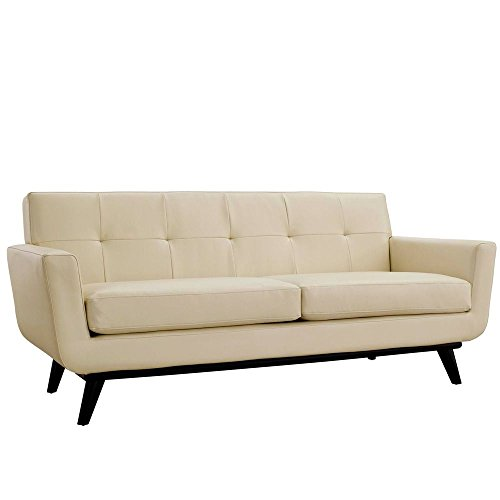 Bonded-Leather-Loveseat-Dimensions-33W-x-78D-x-325H-Weight-140-lbs-Beige-0