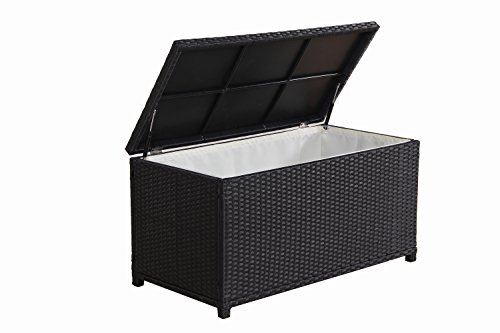 BroyerK-Outdoor-Black-Wicker-Cushion-Storage-Box-0-0