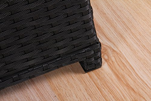 BroyerK-Outdoor-Black-Wicker-Cushion-Storage-Box-0-2