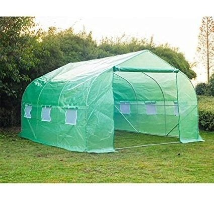 By-Garden-Essentials-Mini-GreenhousePortable12-x10Well-VentilatedSteel-Tube-Frame-Deep-Green-0