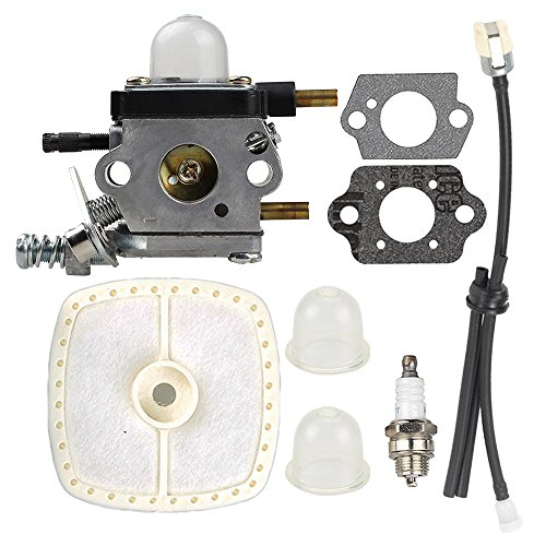 C1U-K54A-Carburetor-with-Air-Filter-Repower-Kit-for-2-Cycle-Mantis-7222-7222E-7222M-7225-7230-7234-7240-7920-7924-ECHO-12520013123-12520013124-Tiller-Cultivator-0